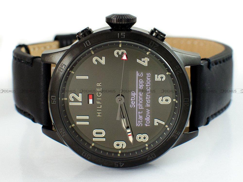 zegarek tommy smartwatch hilfiger 1791301 m ski kwarcowy. Black Bedroom Furniture Sets. Home Design Ideas
