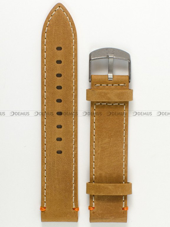 c65c71d55a90f ... Skórzany pasek do zegarka Timex PW4B04400
