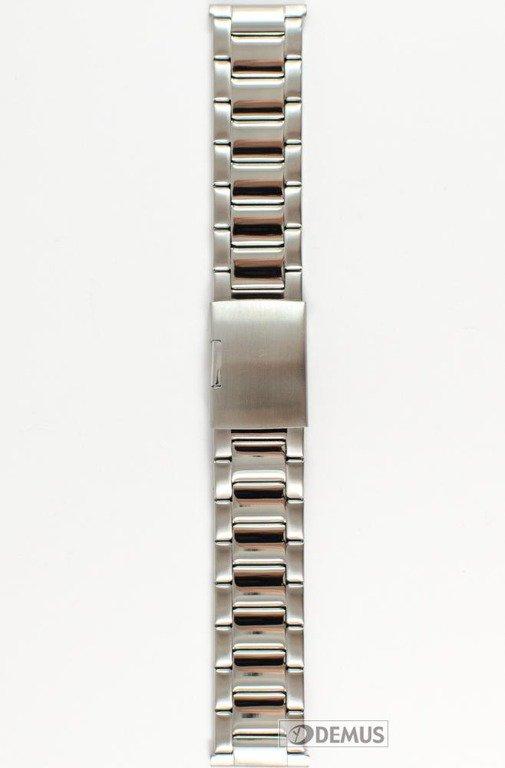 f64637aa4afde1 ... Stalowa bransoleta do zegarka Diloy CM1340B.24, 24 mm, Srebrna ...