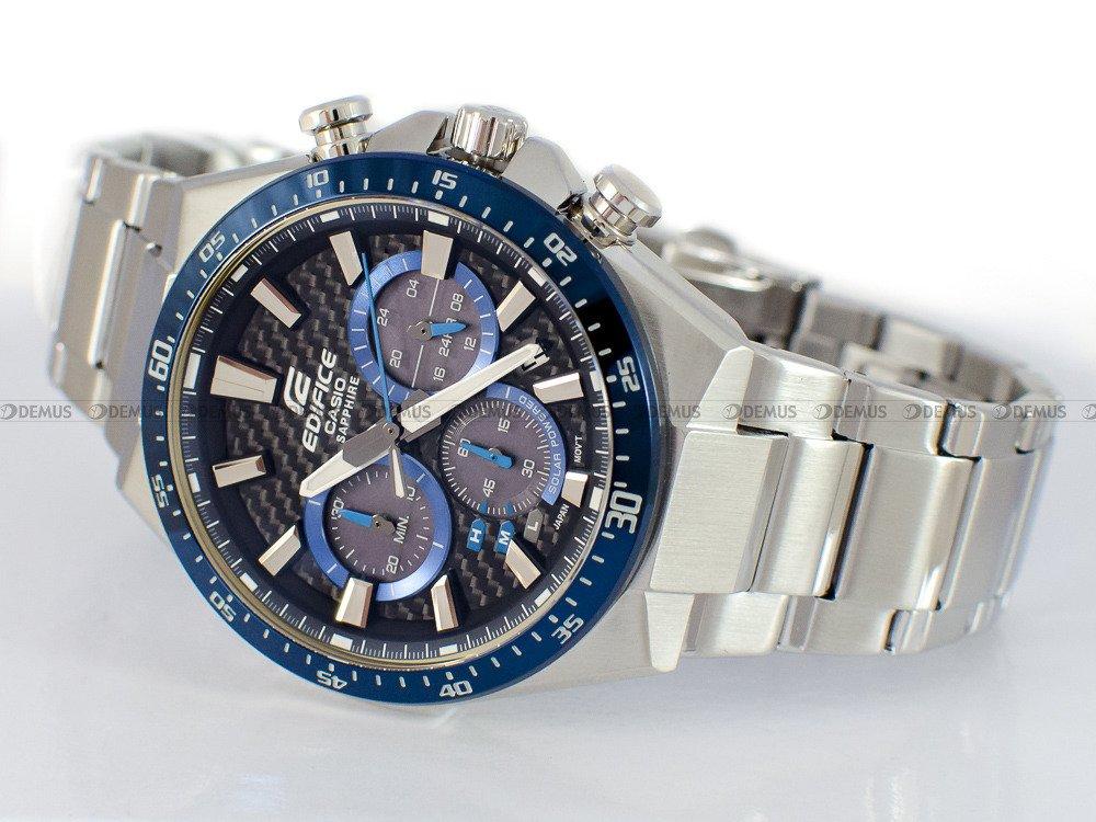 Zegarek Casio EDIFICE Chronograph EFS S520CDB 1BUEF Męski, Kwarcowy, Wskazówkowy
