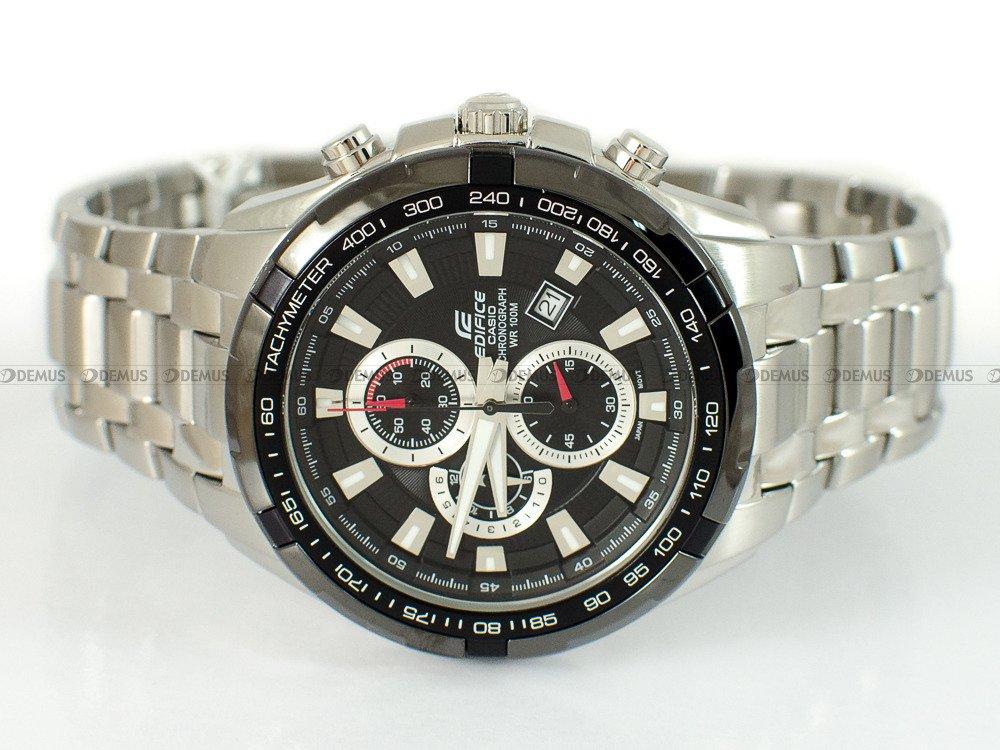 Zegarek Casio Edifice Chronograph EF 539D 1AVEF Męski, Kwarcowy, Wskazówkowy