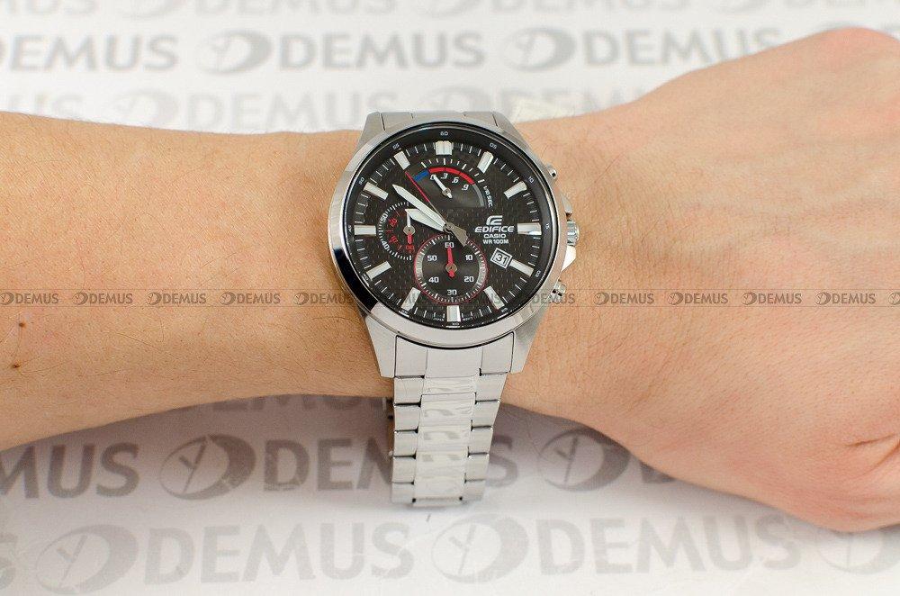 Zegarek Casio Edifice Chronograph EFV 530D 1AVUEF Męski, Kwarcowy, Wskazówkowy