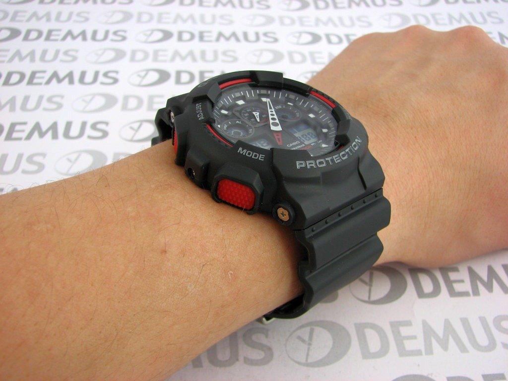 Zegarek Casio G Shock Ga 100 1a4er Mski Kwarcowy Wskazwkowo 100l 1a Elektroniczny