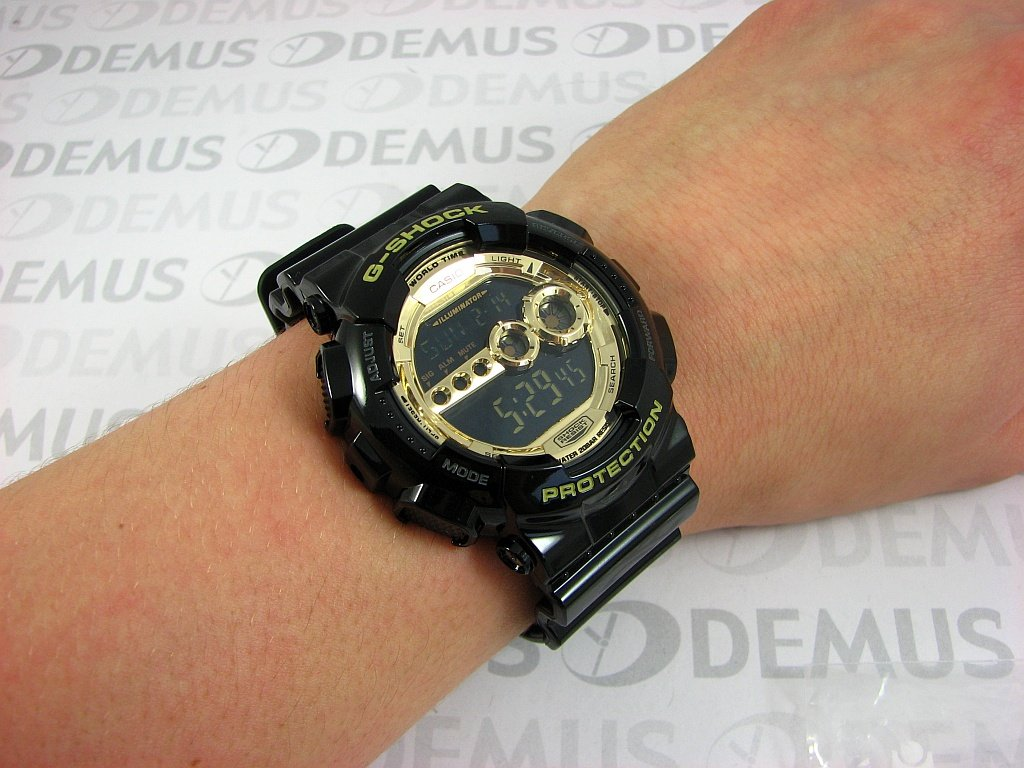 Zegarek Casio G Shock GD 100GB 1ER Męski, Kwarcowy, Elektroniczny