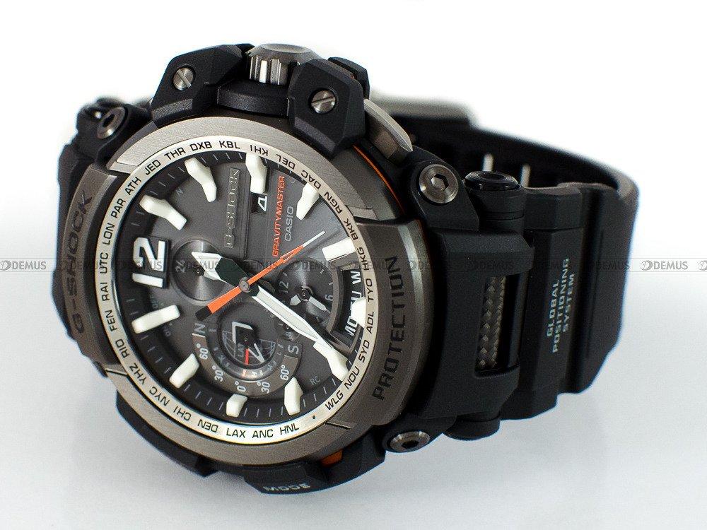 Zegarek Casio G-Shock Radio Controlled GPW-2000-1AER Męski, Kwarcowy Radio  Controlled, Wskazówkowy