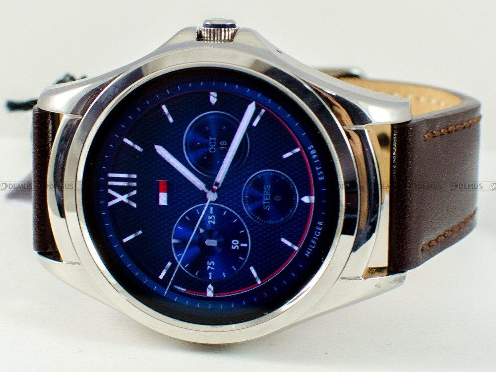 53a27ae5fc9c7 ... Zegarek Tommy Hilfiger Smartwatch 1791406 Męski, Kwarcowy,  Wskazówkowo-Elektroniczny ...