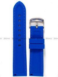 54ec7ab035b5e7 Silikonowy pasek do zegarka Chermond PG9.22.2.2, 22 mm, Niebieski ...